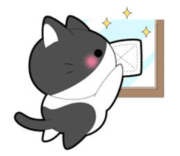 Every day you want help of cat sticker #97546