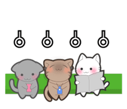 Every day you want help of cat sticker #97549