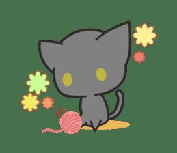 Black Cat sticker #97596