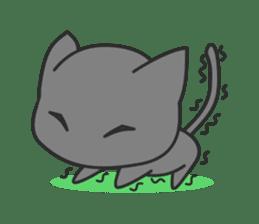 Black Cat sticker #97613