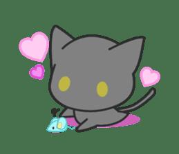 Black Cat sticker #97615