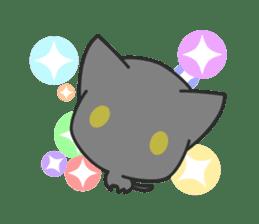 Black Cat sticker #97625