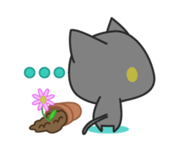Black Cat sticker #97629