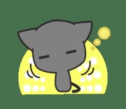Black Cat sticker #97631