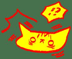 FUNNY CAT TORO sticker #97813