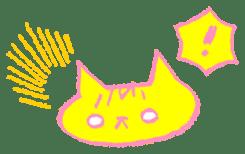 FUNNY CAT TORO sticker #97815