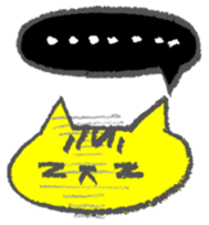 FUNNY CAT TORO sticker #97817