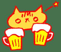FUNNY CAT TORO sticker #97821