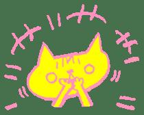 FUNNY CAT TORO sticker #97828