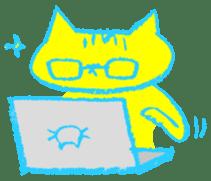 FUNNY CAT TORO sticker #97831