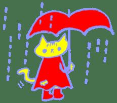 FUNNY CAT TORO sticker #97834