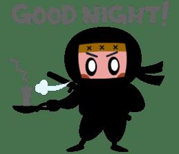 LITTLE NINJA sticker #98288