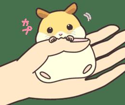 My lovely Hamster sticker #98597