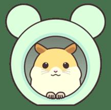 My lovely Hamster sticker #98603