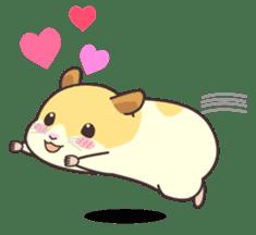 My lovely Hamster sticker #98624