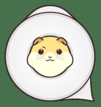 My lovely Hamster sticker #98630