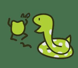 Keko the frog sticker #98707