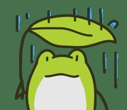 Keko the frog sticker #98712