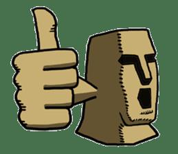 Moai-kun sticker #98798