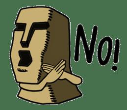Moai-kun sticker #98799