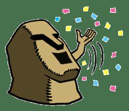 Moai-kun sticker #98800