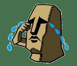 Moai-kun sticker #98801
