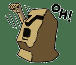 Moai-kun sticker #98802