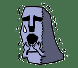 Moai-kun sticker #98803