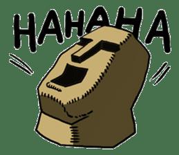 Moai-kun sticker #98804