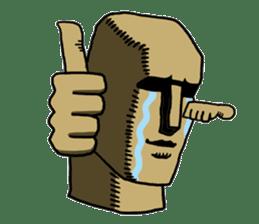 Moai-kun sticker #98805