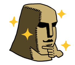 Moai-kun sticker #98806
