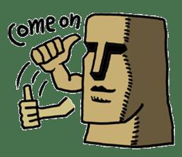 Moai-kun sticker #98808