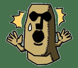 Moai-kun sticker #98809