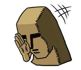 Moai-kun sticker #98810