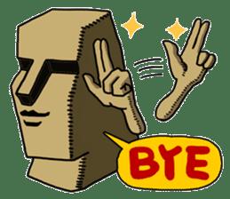 Moai-kun sticker #98812