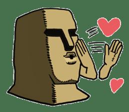 Moai-kun sticker #98815