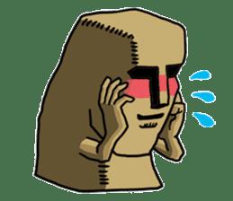 Moai-kun sticker #98816