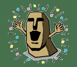 Moai-kun sticker #98818