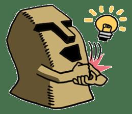 Moai-kun sticker #98823