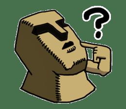 Moai-kun sticker #98825