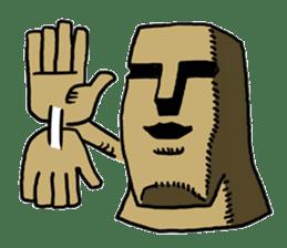 Moai-kun sticker #98828