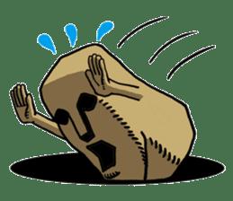 Moai-kun sticker #98829