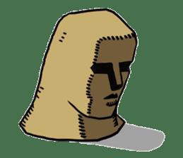 Moai-kun sticker #98830