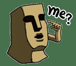 Moai-kun sticker #98831