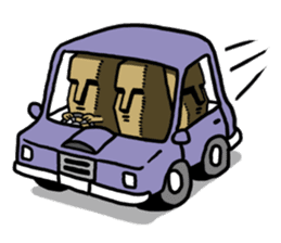 Moai-kun sticker #98833