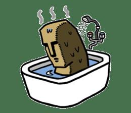 Moai-kun sticker #98835