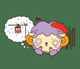 Batora-kun Warm Day sticker #99559