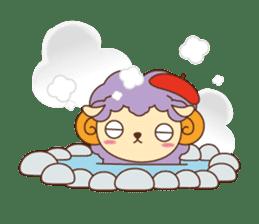 Batora-kun Warm Day sticker #99562