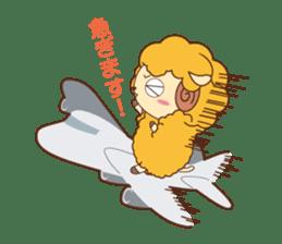Batora-kun Warm Day sticker #99577