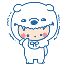 Ookami Bouya (Wolf Kid) sticker #100080